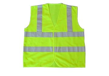 áo lưới phản quang xanh nõn chuối