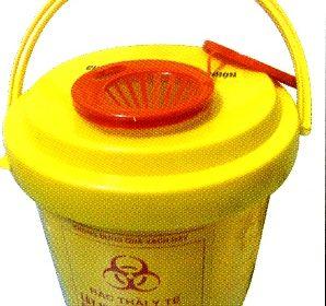 thùng đựng vật sắc nhọn - nguy hại 5 lít