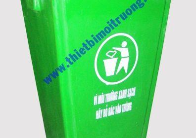 thùng rác đặt sân trường - composite 60L