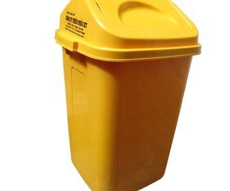 thùng rác trường học 60L