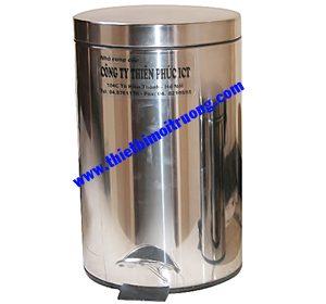 thùng rác trường học-inox 12L
