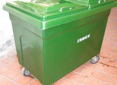 thung-rac-y-te-660L-composite-xanh