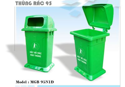 thung-rac-nhua-95 L-xanh