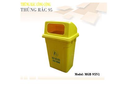 thung-rac-nhua-95L- vang